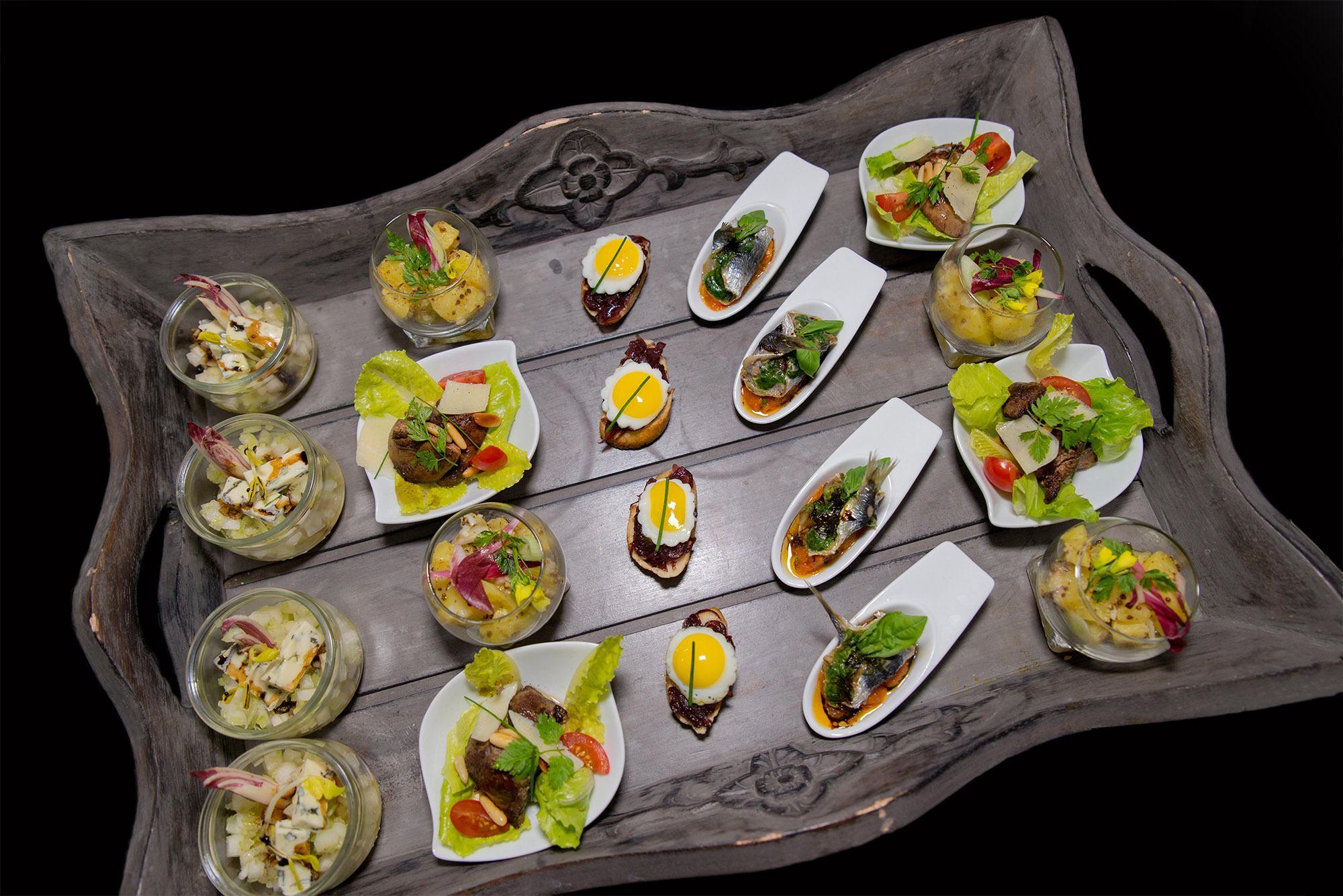 menu - Pièces cocktails Bistrot et Traiteur