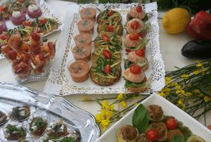 Traiteur Alpes Maritimes - Cocktail dinatoire