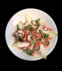 salade écrevisse traiteur