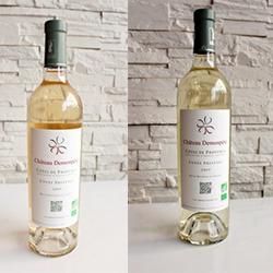 Château Demonpère vins blanc et rosé